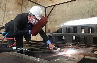Kaymakam Yılmaz ve Başkan Özdemir'den Havza OSB'ye ziyaret