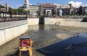 Keçiören Belediyesi'nden Gümüşdere'ye yaz temizliği