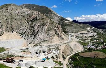 Kop Tüneli'ndeki kazı işleminin yüzde 58'i tamamlandı