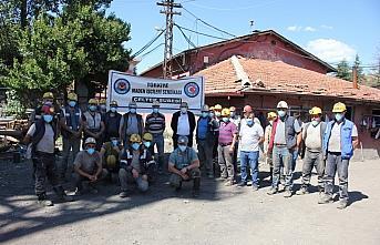 Madenciler kıdem tazminatının mevcut haliyle korunmasını...