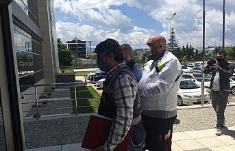 Örgütlü gasp suçundan aranan şüpheli Bolu'da yakalandı