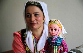 Pınarbaşı'nın geleneksel kıyafetli