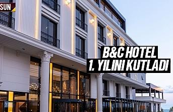 Samsun Atakum B&C Hotel Yıl Dönümünü Kutladı