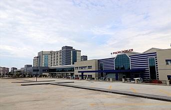 Samsun Eğitim Araştırma Hastanesine 37 milyon lira harcanarak yeni poliklinik binası yapıldı