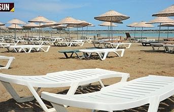 Samsun Fener Plajı ve Suada havuz açıldı