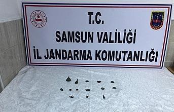 Samsun ve Amasya'da tarihi eser operasyonu: 4 gözaltı