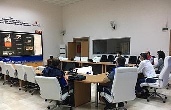 Samsun'da AFAD gönüllüleri için uzaktan eğitim...