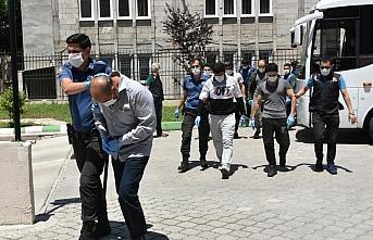 Samsun'da DEAŞ operasyonunda gözaltına alınan 11 şüpheli adliyede