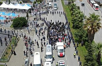 Şehit Piyade Uzman Onbaşı Zengin Samsun'da son yolculuğuna uğurlandı
