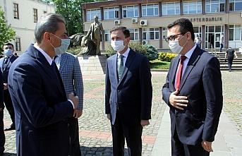 Sinop Valisi Erol Karaömeroğlu görevine başladı
