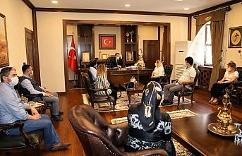 Tokat Belediye Başkanı Eroğlu'na teşekkür ziyareti