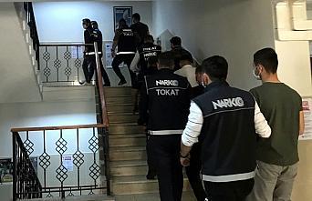 Tokat merkezli uyuşturucu operasyonunda 3 kişi tutuklandı