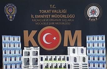 Tokat'ta 264 kaçak cep telefonu ele geçirildi