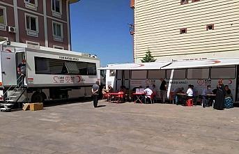 Tokat'ta kan bağışı kampanyası