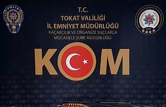 Tokat'ta tarihi eser kaçaklığı operasyonunda 3...