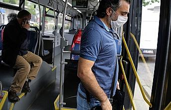 Toplu ulaşımda yüzde 50 yolcu sınırlandırması...