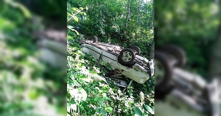 Trabzon'da otomobil uçuruma yuvarlandı: 1 ölü