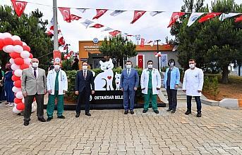 Trabzon'da sokak hayvanlarının bakımı ve tedavisi için yapılan klinik hizmete girdi
