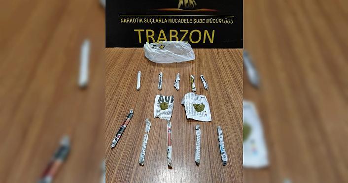Trabzon'da uyuşturucu ele geçirildi