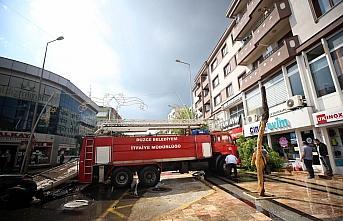 Yangına giden itfaiye aracı kaza yaptı