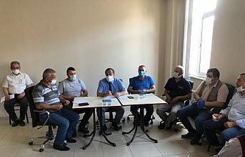 Yığılca'da esnaf toplantısı yapıldı