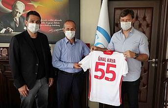 Yılport Samsunspor'dan SGK'ya ziyaret