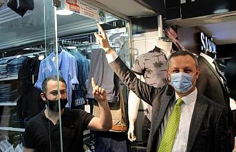 Zonguldak Belediye Başkanı Alan'dan esnafa destek