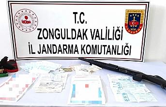 Zonguldak'ta tefecilik operasyonunda 4 kişi gözaltına alındı