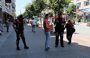 Bolu'da maske takmayan 458 kişiye 412 bin 200 lira...