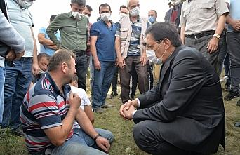 Bolu'da yangında 2 çocuklarını kaybeden aileye ev yardımı yapılacak