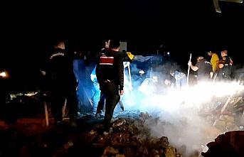 Bolu'daki yangında hayatını kaybeden iki çocuk...