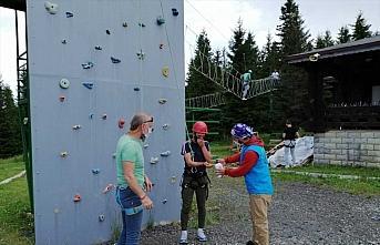 Doğu Karadeniz Gençlik Kampı ilk misafirlerini ağırladı