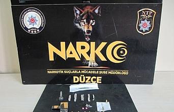 Düzce'deki uyuşturucu operasyonunda 3 şüpheli tutuklandı