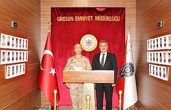 Giresun Jandarma Bölge Komutan Vekili Demir'den İl...