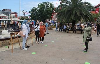 Giresun'da AA'nın 15 Temmuz fotoğraflarının yer...