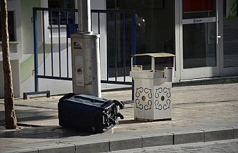 Gümüşhane'de şüpheli valizden eşya çıktı