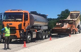 GÜNCELLEME - Bartın'da asfalt tankerinin altında kalan işçi öldü