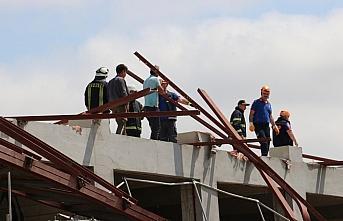 GÜNCELLEME - Kastamonu'da spor salonu inşaatının...