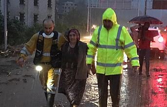 GÜNCELLEME - Rize'de şiddetli yağış