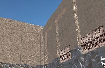 Hattuşa'nın 3 bin 500 yıl önceki hali