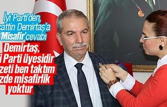 İyi Parti'den, Necattin Demirtaş'a 'Misafir'...