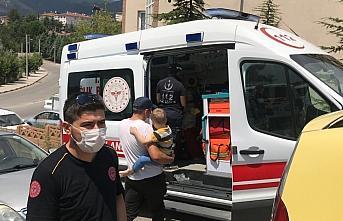 Karabük'te yangında dumandan etkilenen 7 kişi hastaneye kaldırıldı