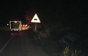 Karabük'teki kazada ağır yaralanan kadın hayatını...