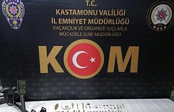 Kastamonu'da evinde 103 parça tarihi eser bulunan kişi yakalandı