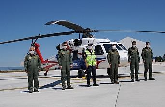 Kastamonu'da helikopter destekli trafik denetimi yapıldı