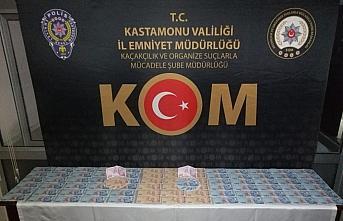 Kastamonu'da piyasaya sahte para sürmek isteyen 3 kişi yakalandı