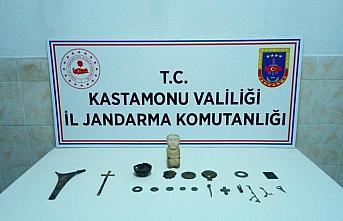 Kastamonu'da tarihi eser operasyonunda bir kişi gözaltına alındı