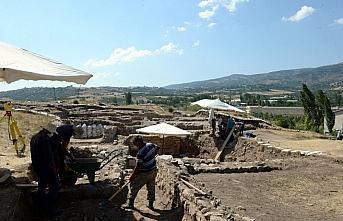 Komana Antik Kenti'ndeki kazı çalışmaları