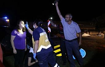 Mudurnu'da zincirleme trafik kazası: 7 yaralı