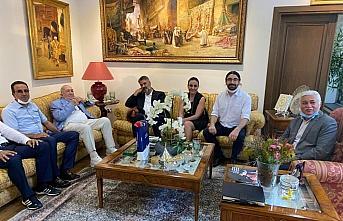 Rektör Polat'tan Türker İnanoğlu'na ziyaret